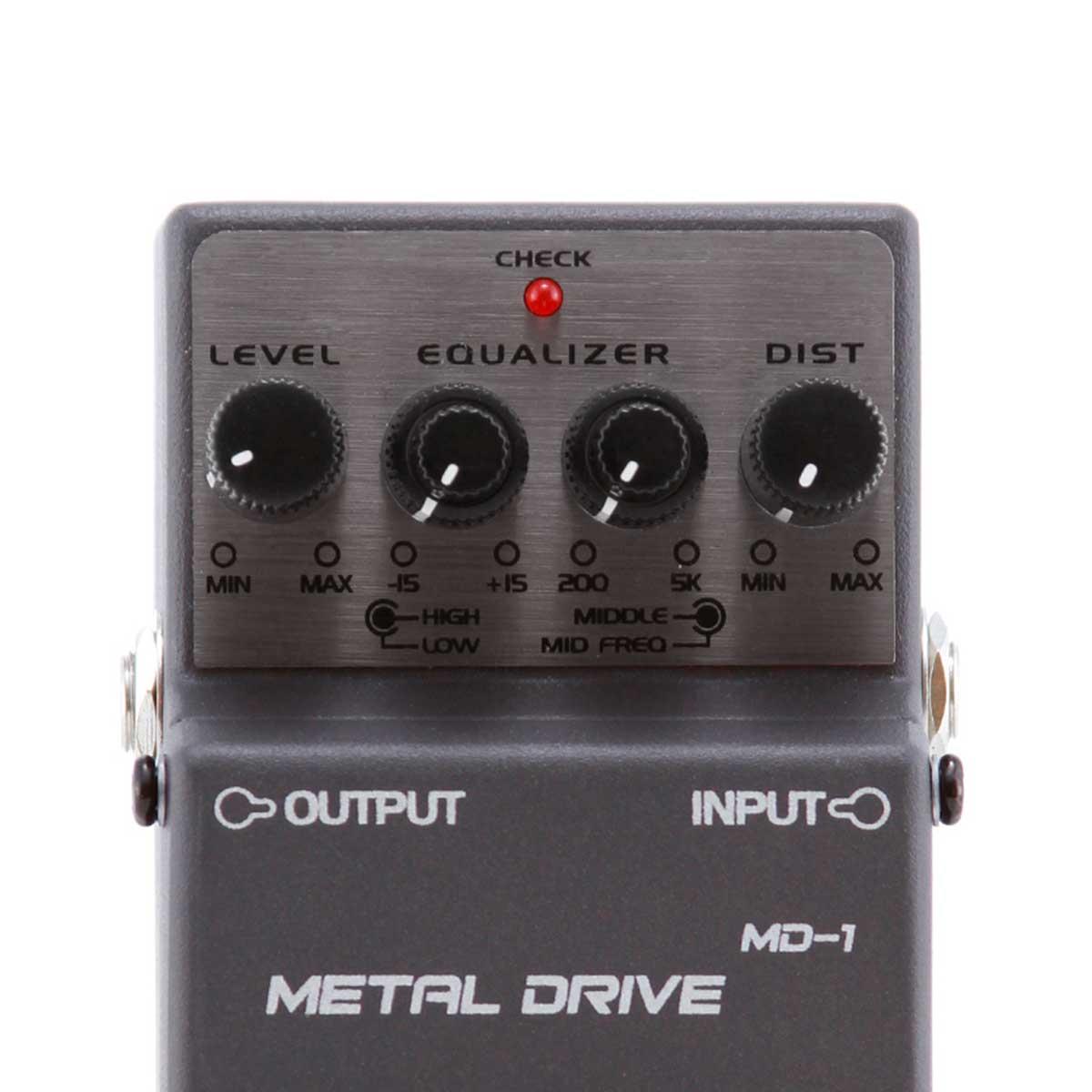 Pedal Guitarra MD1 Metal Drive MD 1 - Waldman