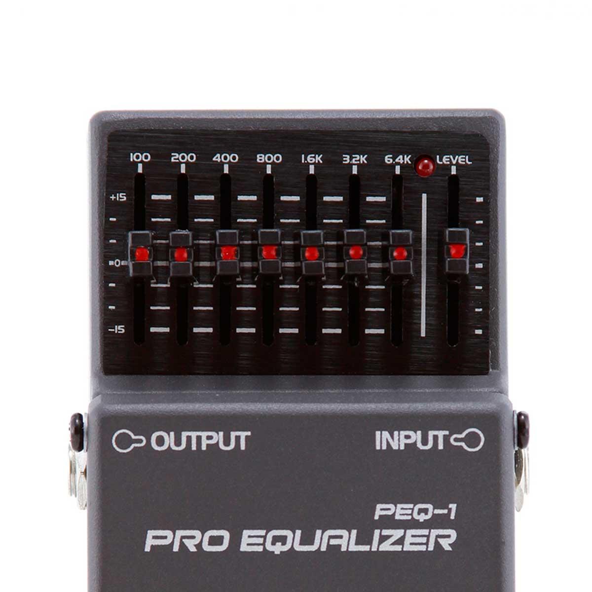 Pedal Guitarra PEQ1 Pro Equalizer PEQ 1 - Waldman