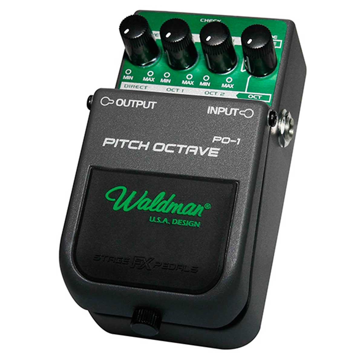 Pedal Guitarra PO1 Pitch Octave PO 1 - Waldman