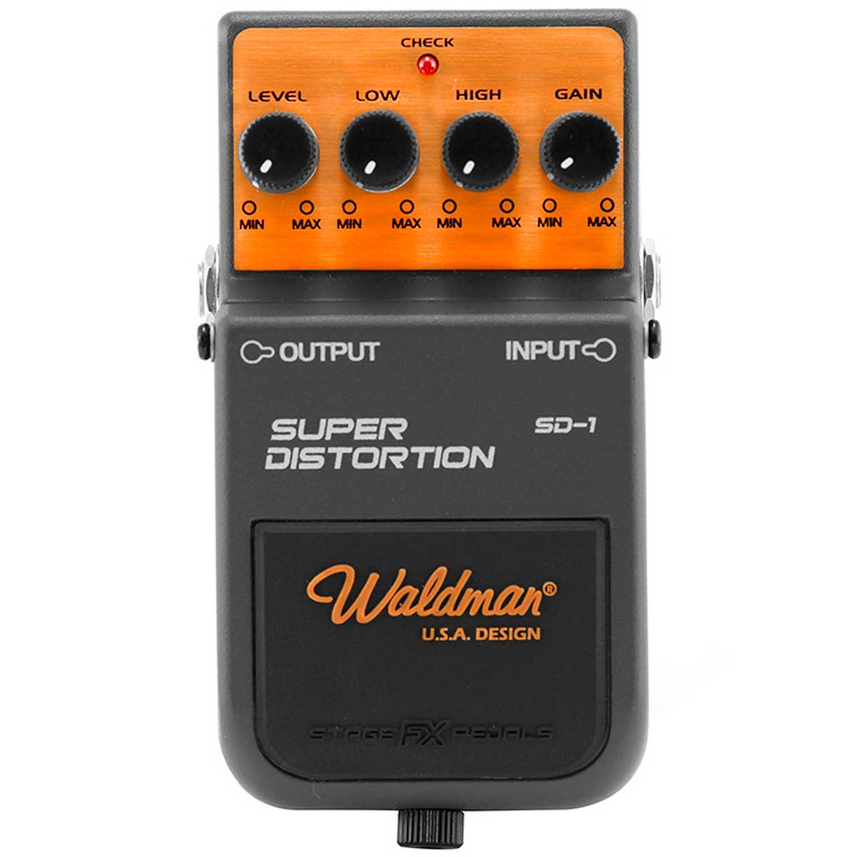 SD1 - Pedal Contrabaixo Super Distortion SD 1 - Waldman