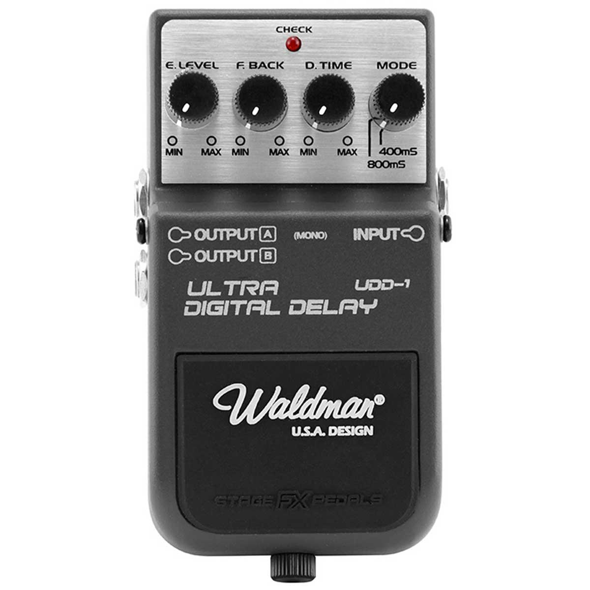 UDD1 - Pedal Contrabaixo Ultra Digital Delay UDD 1 - Waldman