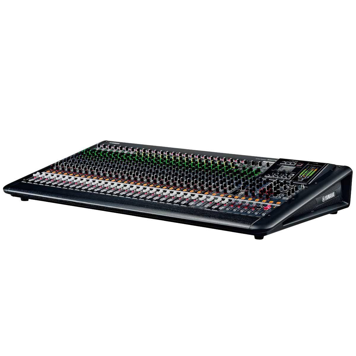 Mesa de Som 32 Canais (24 XLR + 4 P10 Balanceadas + 4 RCA) c/ USB / Efeito / Phantom / 6 Auxiliares - MGP 32 X Yamaha