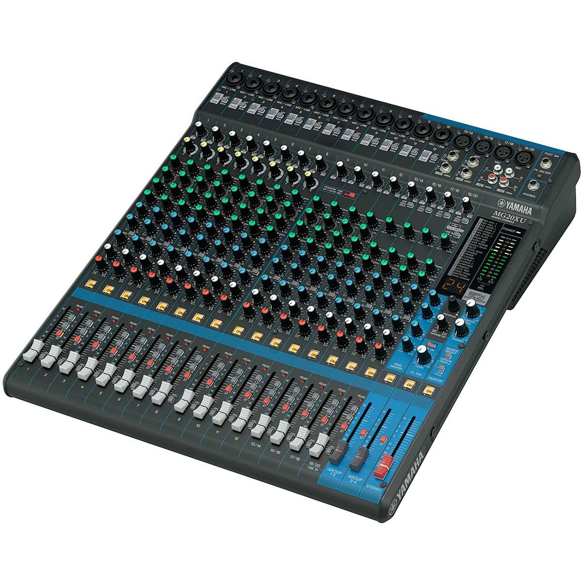 MG20XU - Mesa de Som / Mixer 20 Canais MG 20 X U - Yamaha