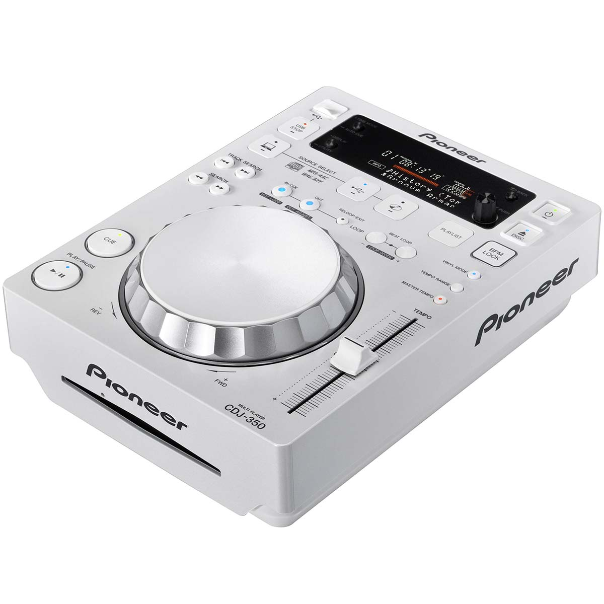 CDJ350 - CDJ Player c/ USB CDJ 350 Branco - Pioneer