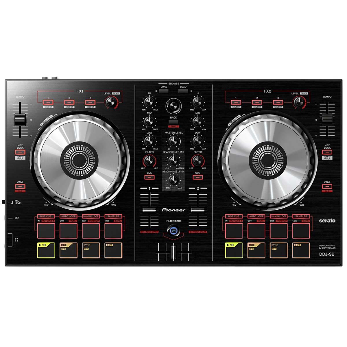 DDJSB - Controladora DJ c/ USB DDJ SB Preta - Pioneer