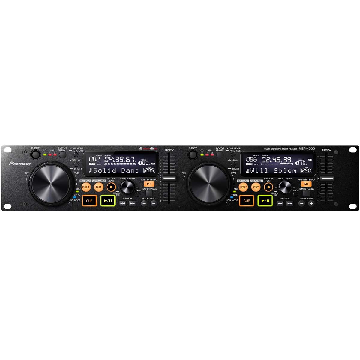 MEP4000 - CDJ Player Duplo c/ USB MEP 4000 - Pioneer