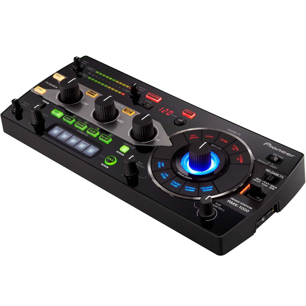 RMX1000 - Controladora DJ Digital RMX 1000 Preta - Pioneer
