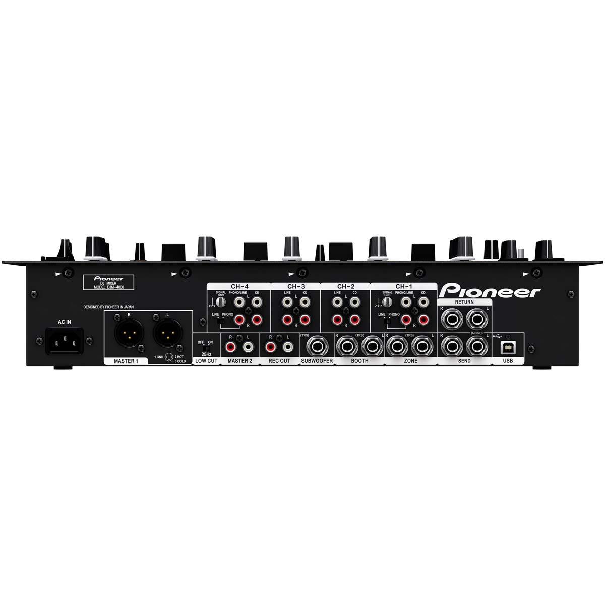 DJM4000 - Mixer DJ 4 Canais Preto DJM 4000 - Pioneer