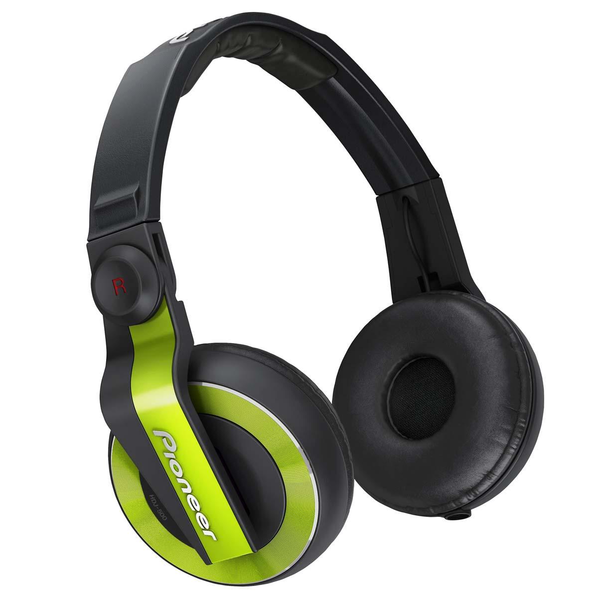 HDJ500 - Fone de Ouvido Over-ear Verde HDJ 500 - Pioneer
