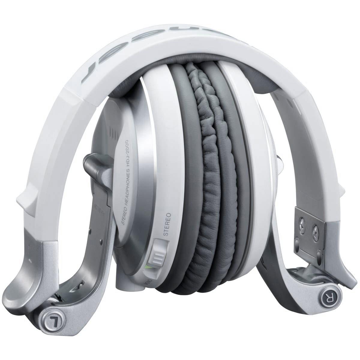 HDJ2000 - Fone de Ouvido Over-ear Branco HDJ 2000 - Pioneer