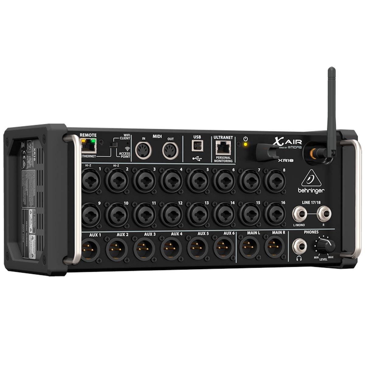 XR18 - Mesa de Som / Mixer Digital Wireless 18 Canais XR 18 - Behringer