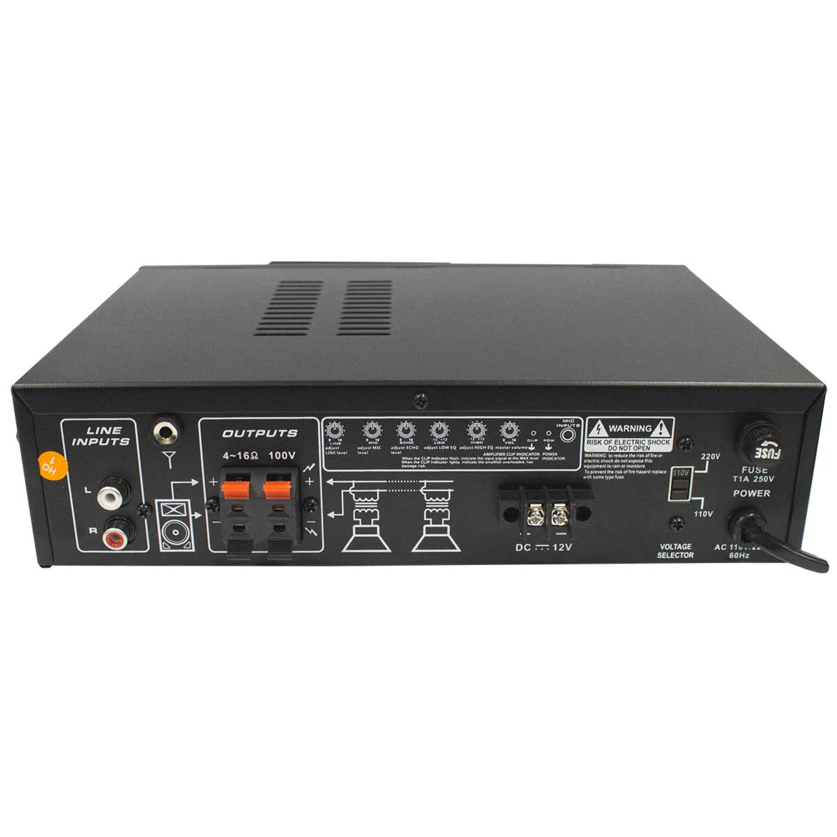 CSR535MUSBD - Amplificador 20W CSR 535M USB D - CSR