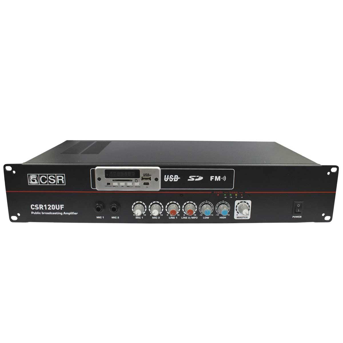 CSR120UF - Amplificador 20W CSR 120 UF - CSR