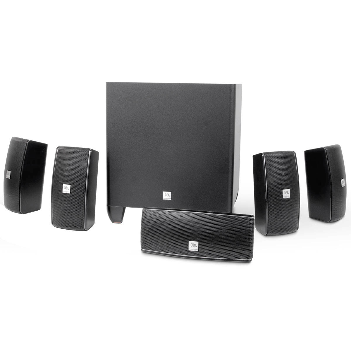 Cinema610 - Kit Caixas Home Theater 5.1 Cinema 610 - JBL