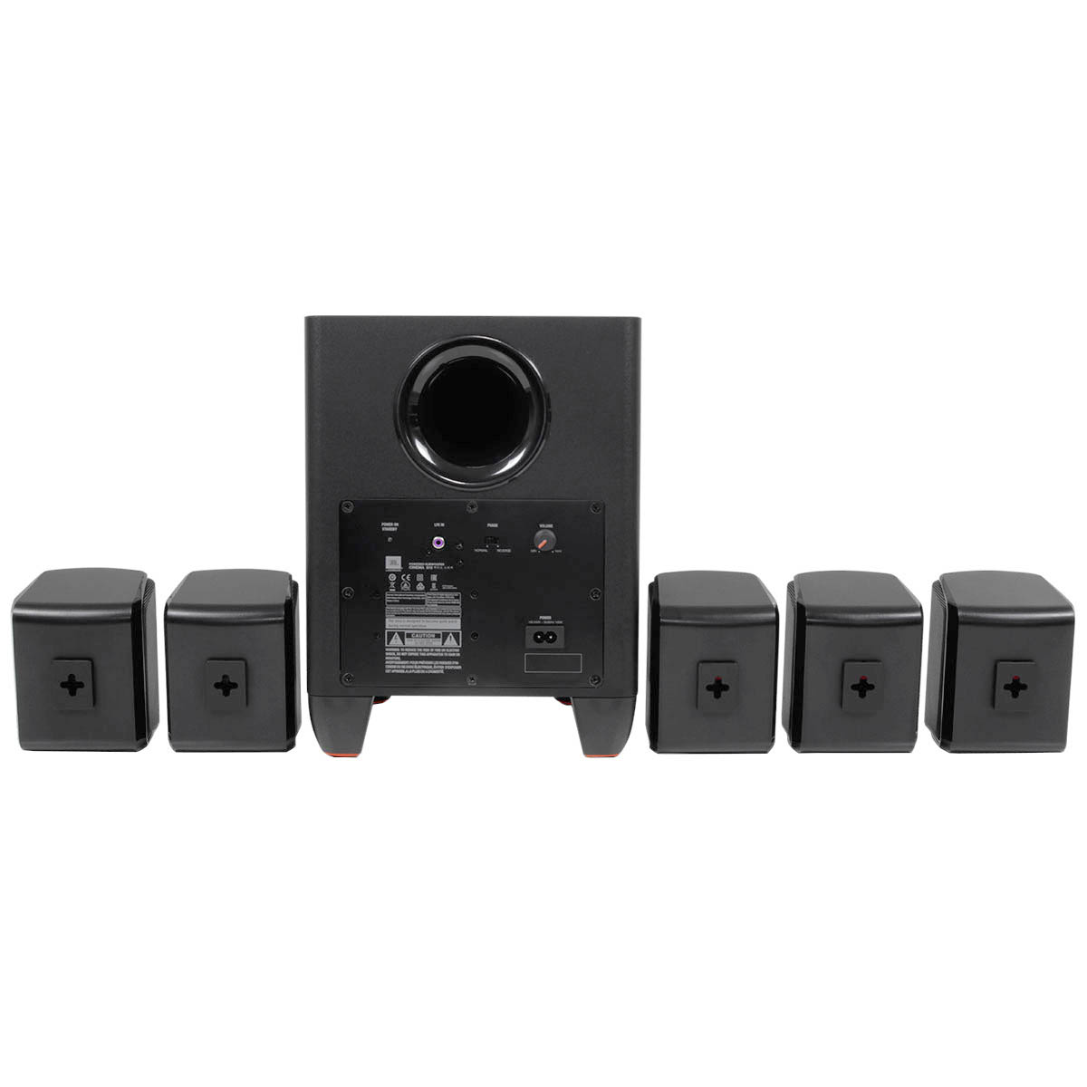 Cinema510 - Kit Caixas Home Theater 5.1 Cinema 510 - JBL