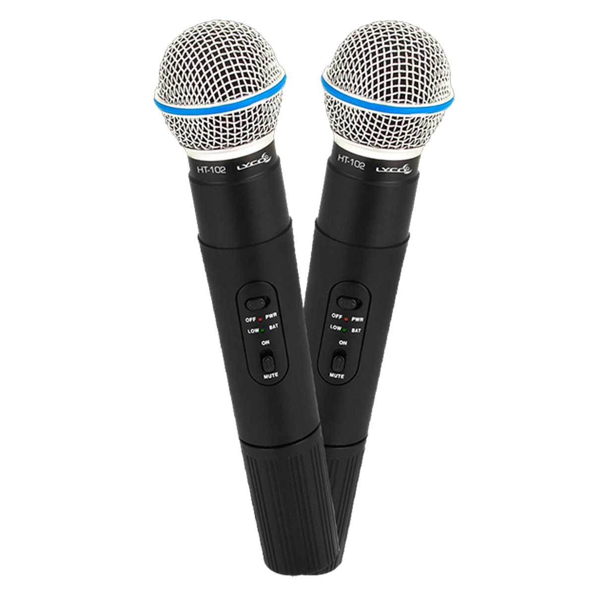 VH202PROMM - Microfone s/ Fio de Mão Duplo VHF VH 202 PRO MM - Lyco