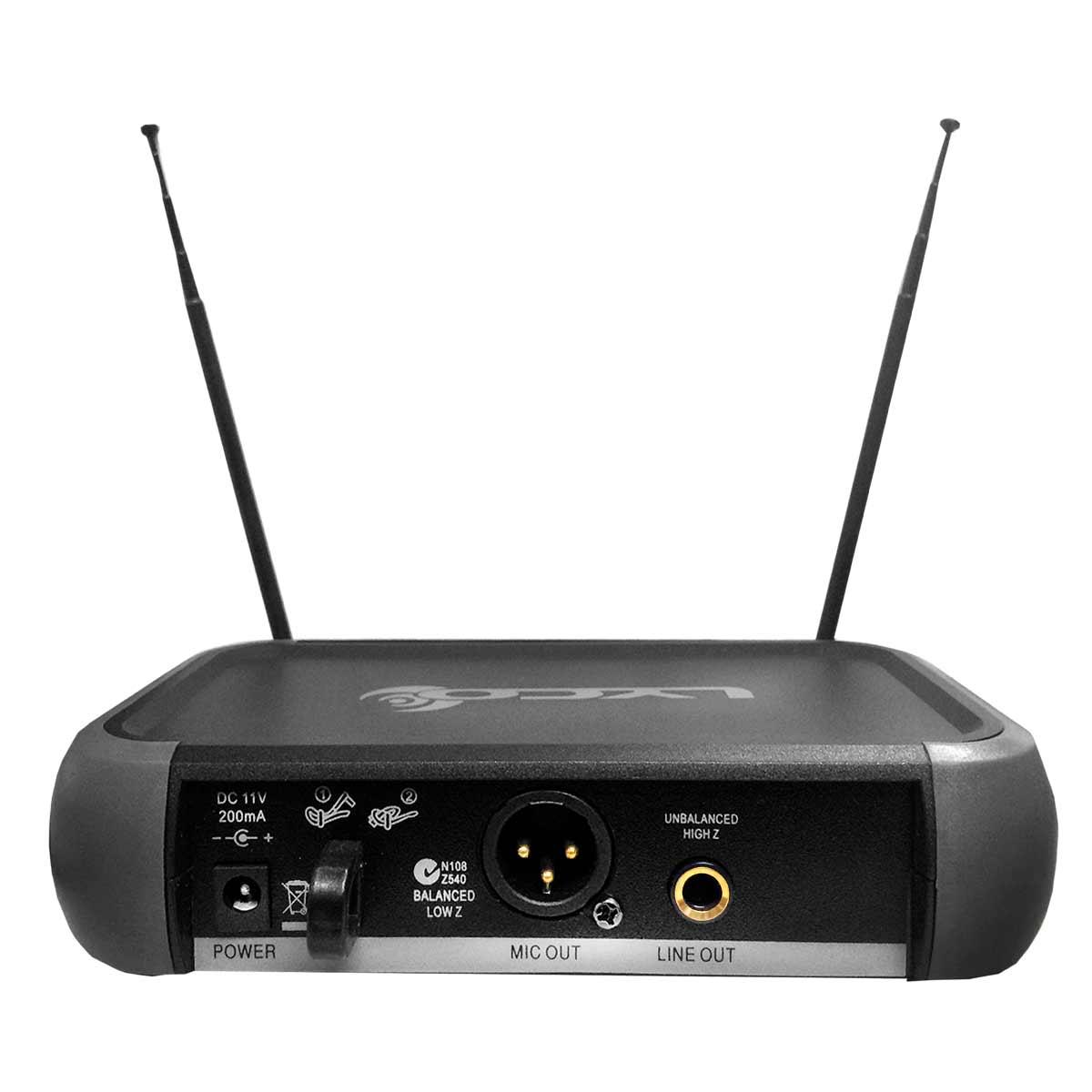 VH102PROHL - Microfone s/ Fio Headset e Lapela VHF VH 102 PRO HL - Lyco