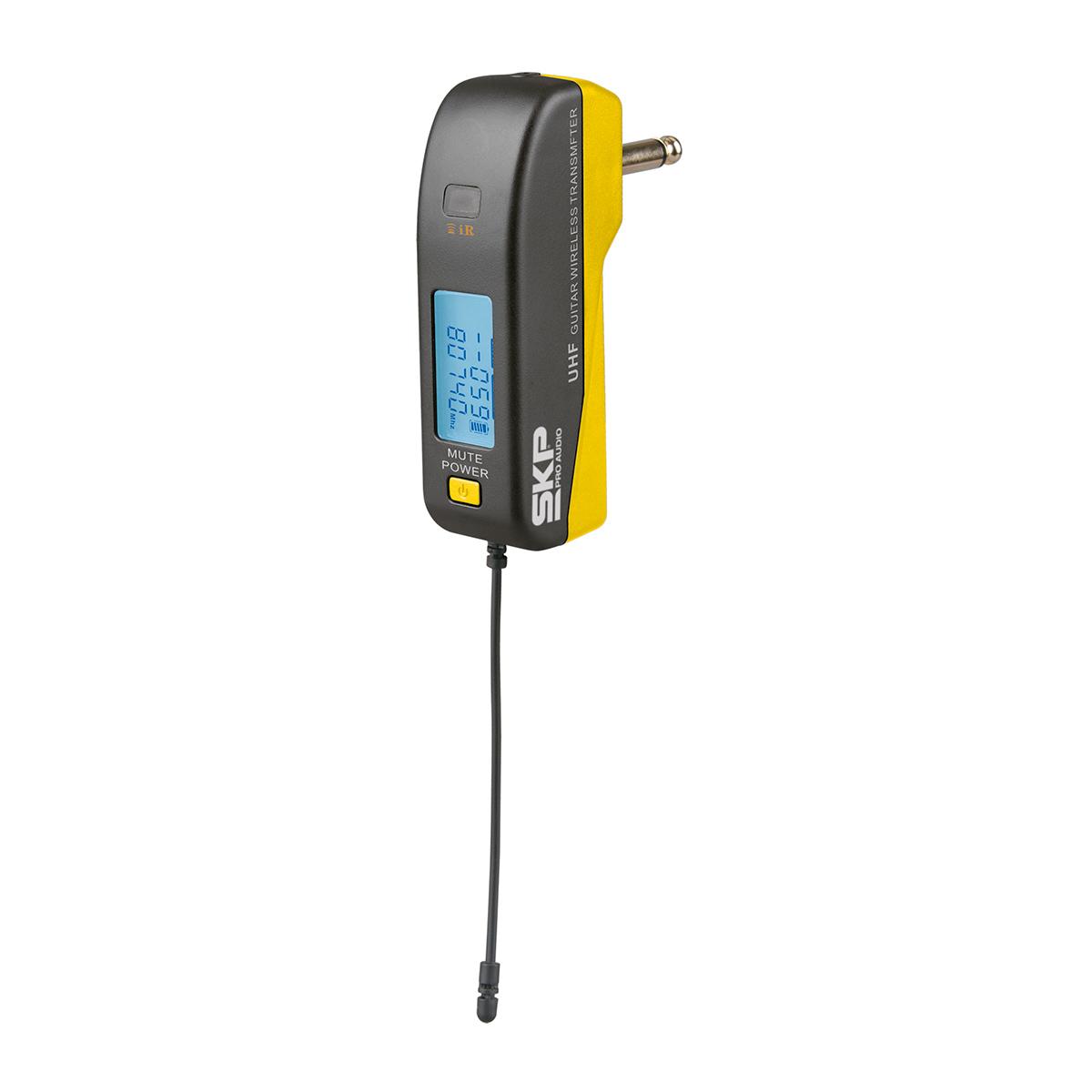 MultisetIII - Microfone s/ Fio de Mão e Transmissor UHF Multiset III - SKP