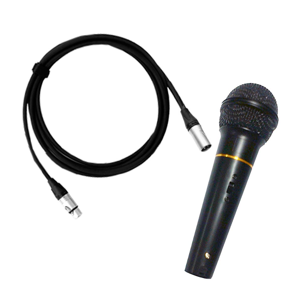 EVO410 - Kit Portátil c/ Mesa, 2 Caixas, Microfone e Cabo EVO 410 - Novik Neo