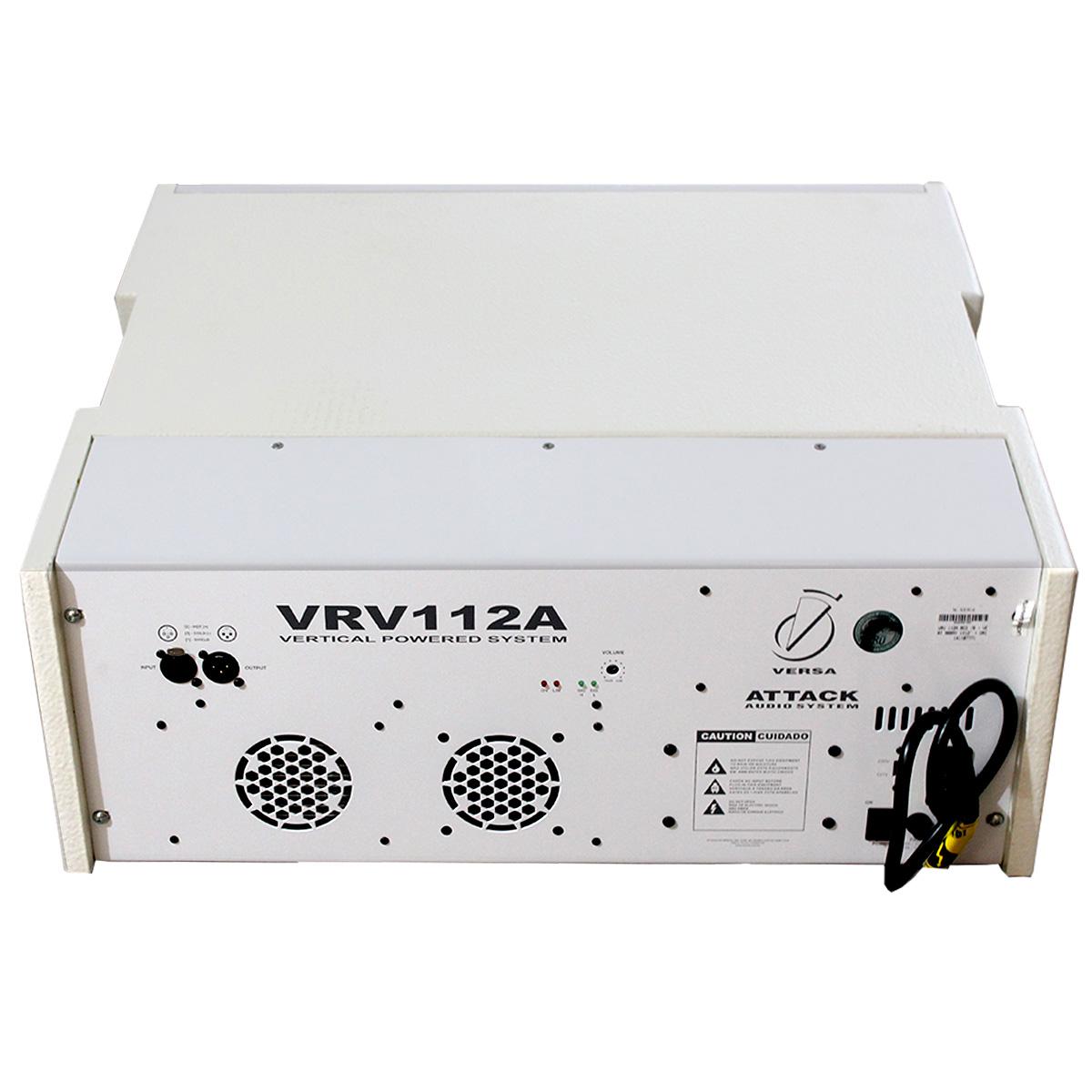 VRV112A - Caixa Ativa Line Array 950W Branca VRV 112 A - Attack