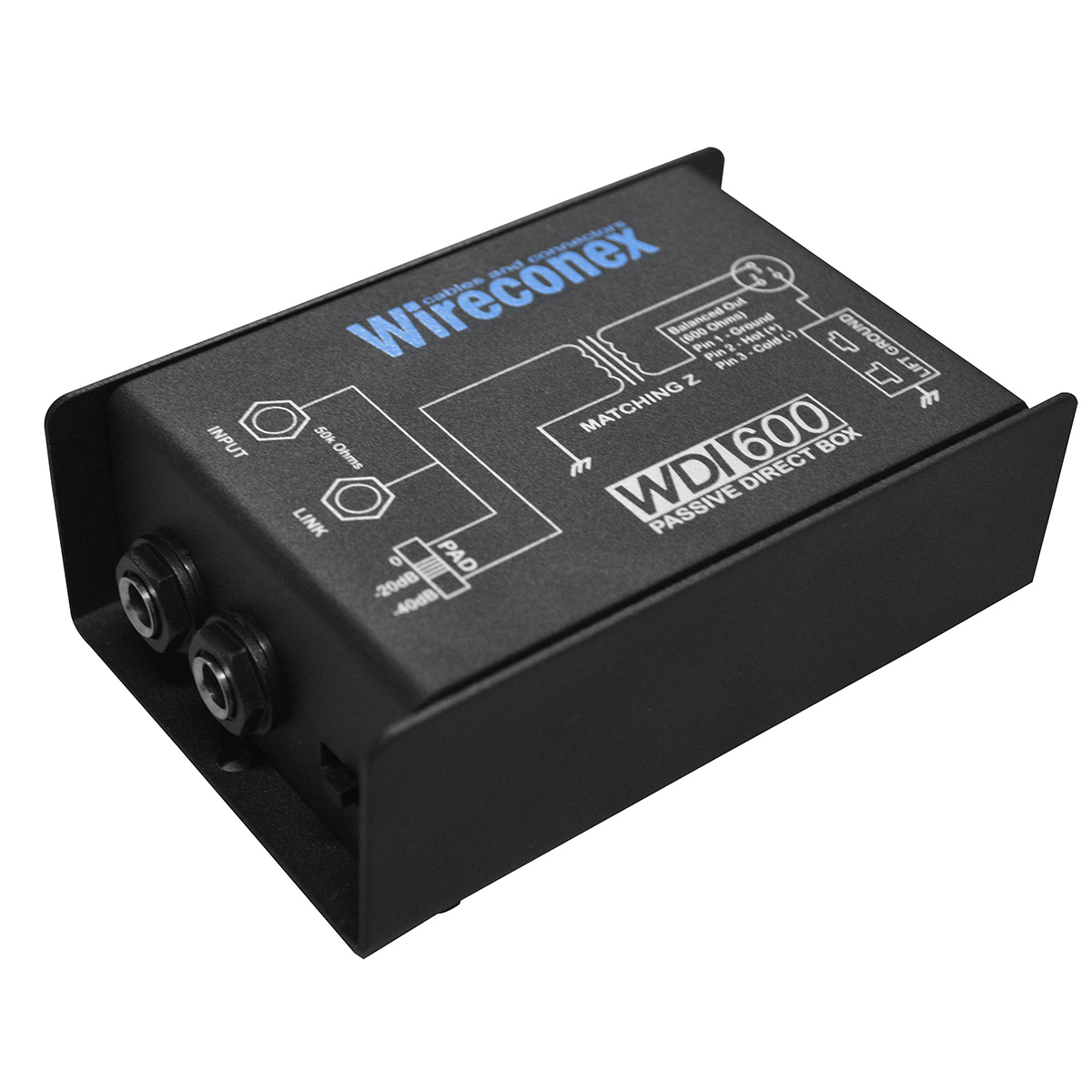WDI600 - Direct Box Passivo WDI 600 - Wireconex