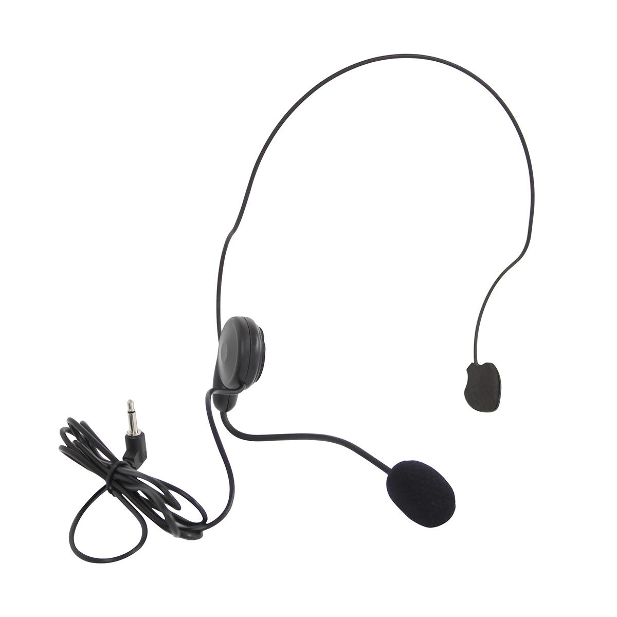 MINIV  - Microfone s/ Fio Headset / Cabeça UHF MINI V - SKP
