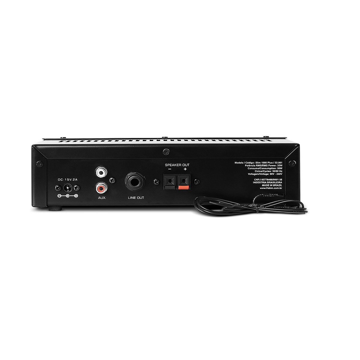 SLIM1000PLUS - Amplificador 35W SLIM 1000 PLUS - Frahm