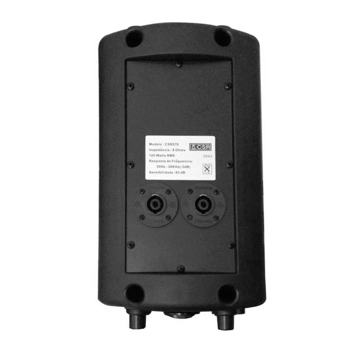 CSR570 - Caixa Passiva 100W c/ Suporte CSR 570 - CSR