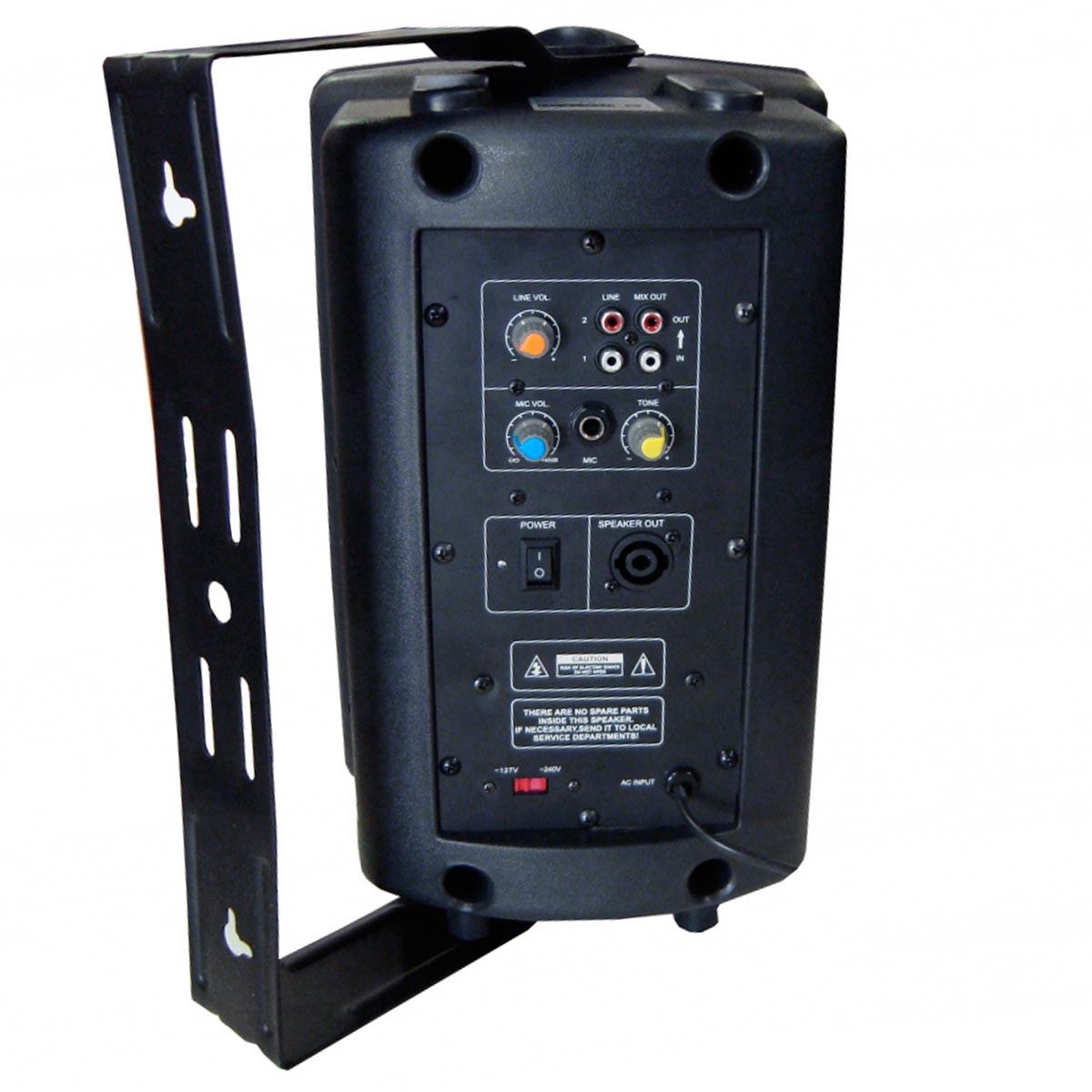 CSR570A - Caixa Ativa 100W c/ Suporte CSR 570 A - CSR