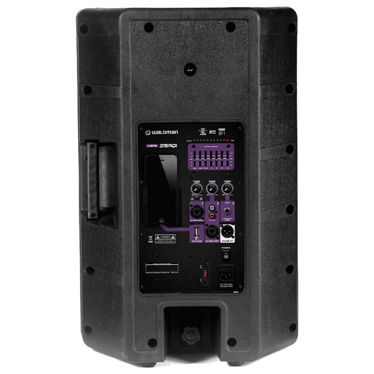LC315AQI - Caixa Ativa 360W c/ Player USB LC 315 AQI - Waldman