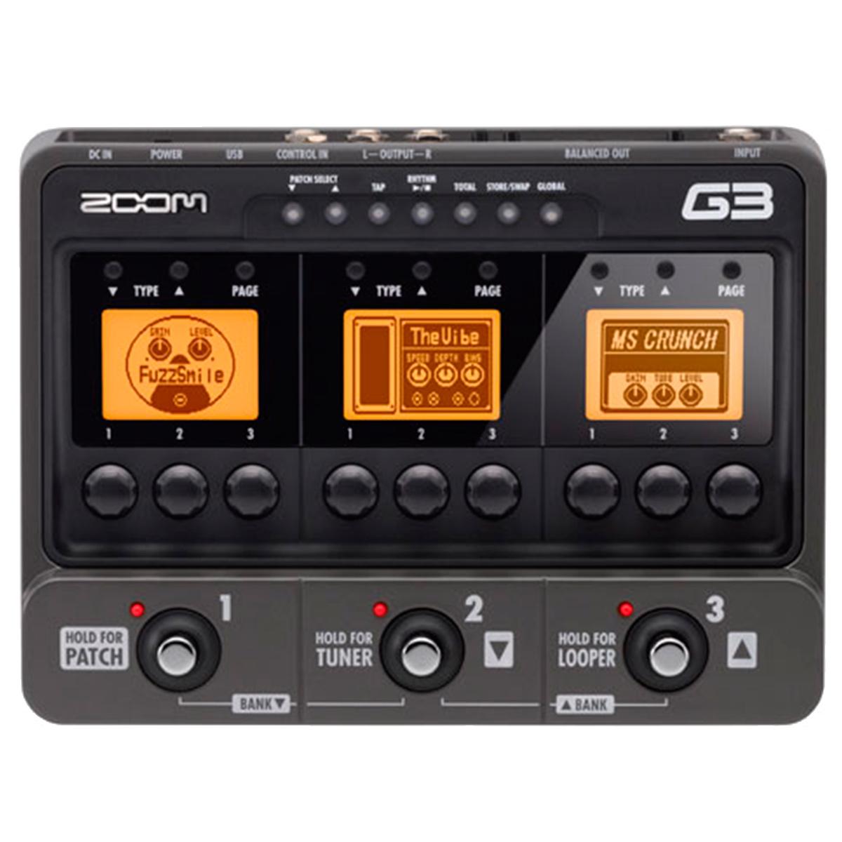 Pedal Guitarra G3 107 Efeitos G 3 - Zoom