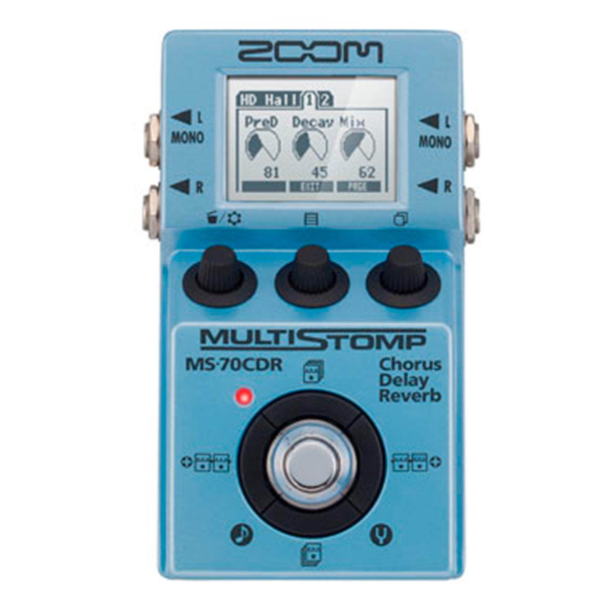 Pedal Guitarra MS70CDR 86 Efeitos MS 70 CDR - Zoom