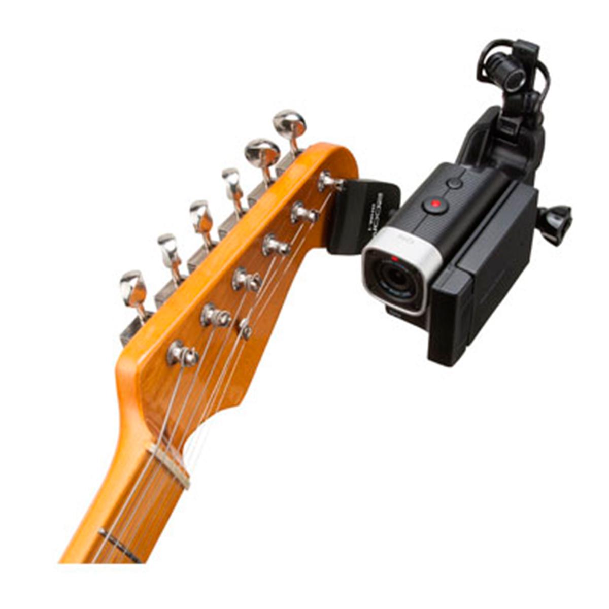 Suporte de Guitarra / Baixo / Violão p/ Câmera Q 4 - GHM 1 Zoom