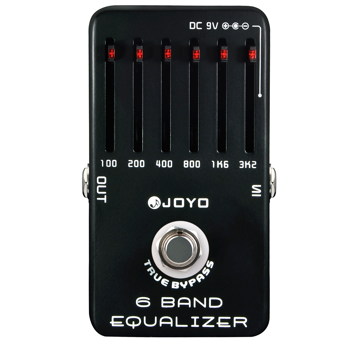 JF11 - Pedal Guitarra 6 Band EQ JF 11 - JOYO
