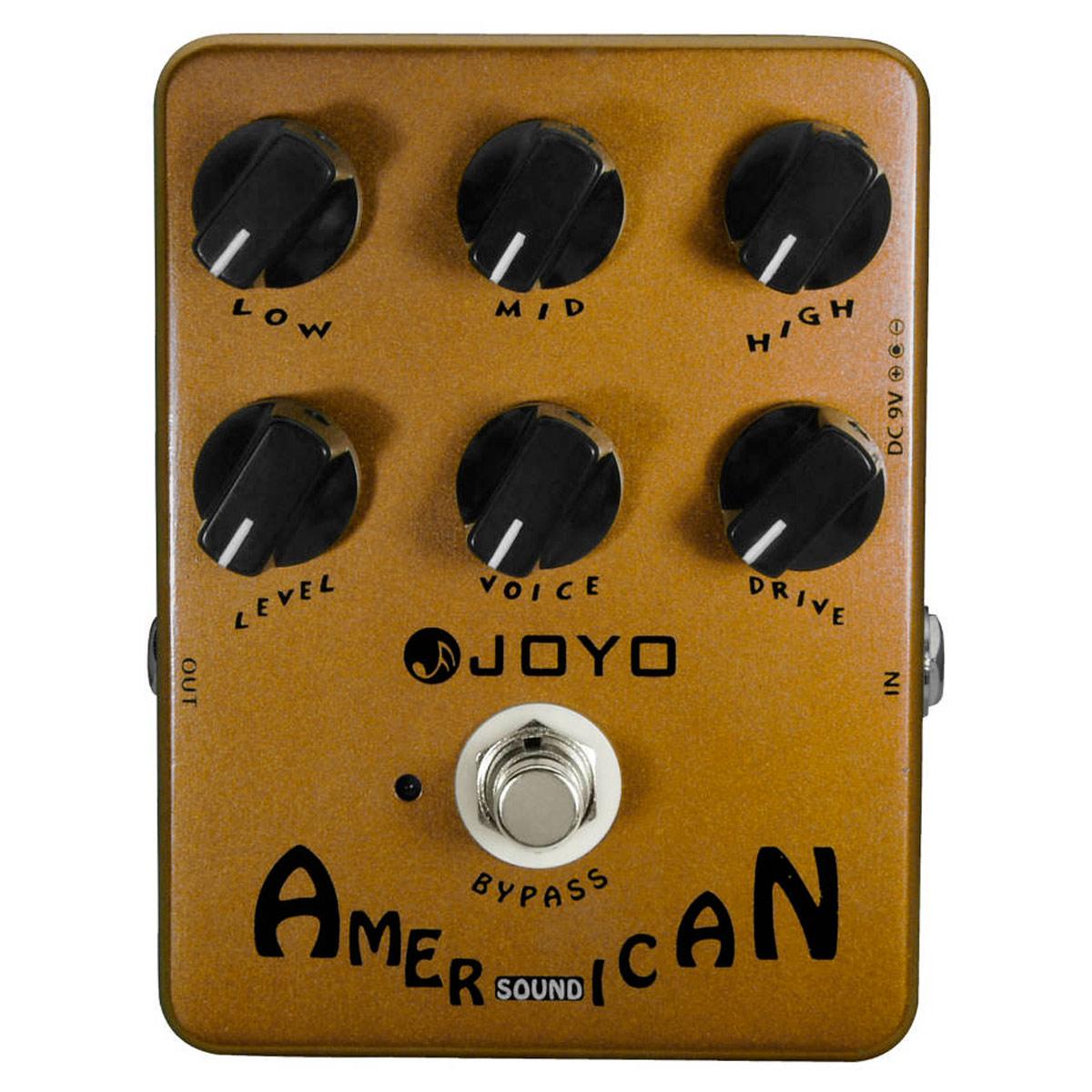 Pedal emulador American Sound p/ Guitarra - JF 14 JOYO
