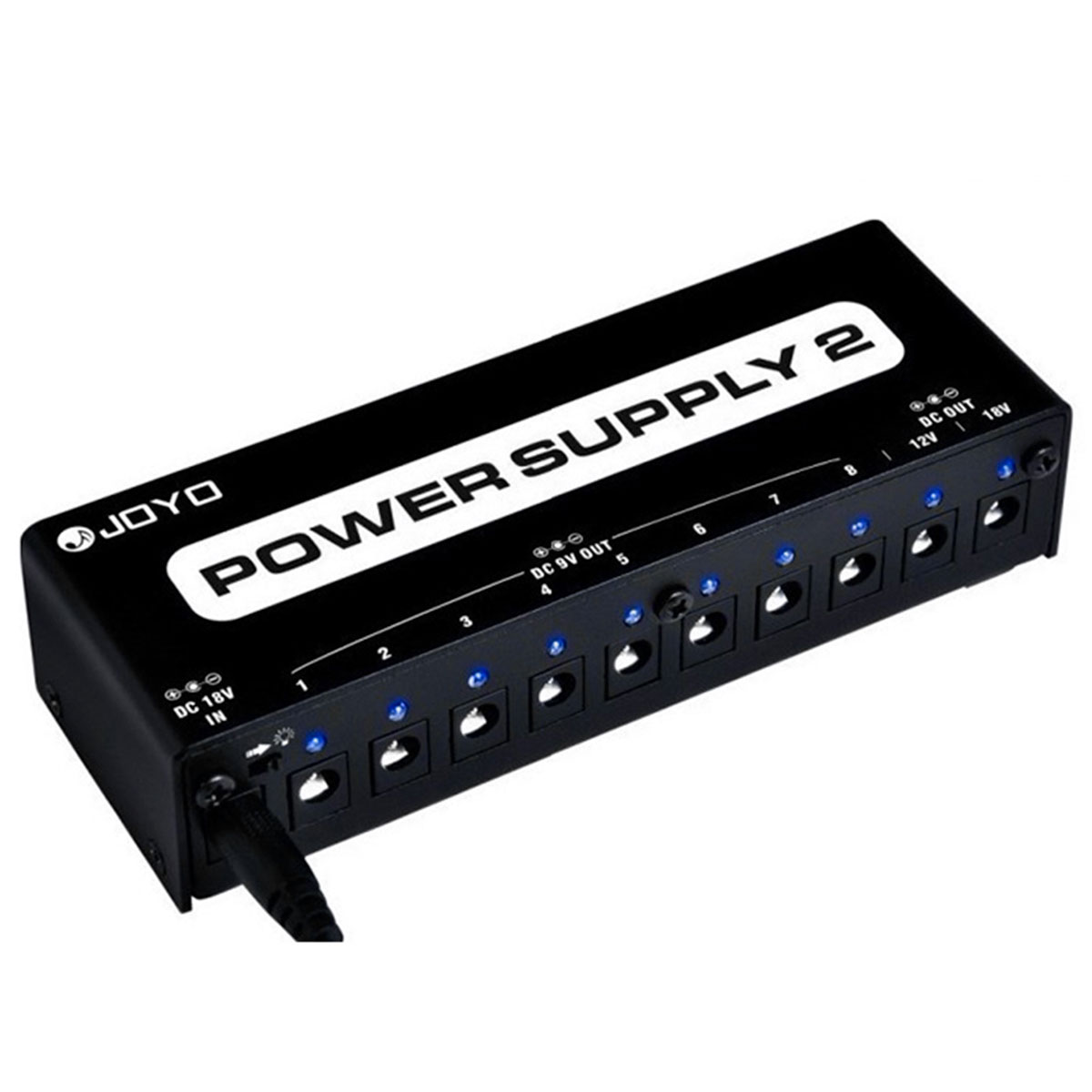 JP02 - Fonte p/ 10 Pedais Power Supply 2 JP 02 - JOYO