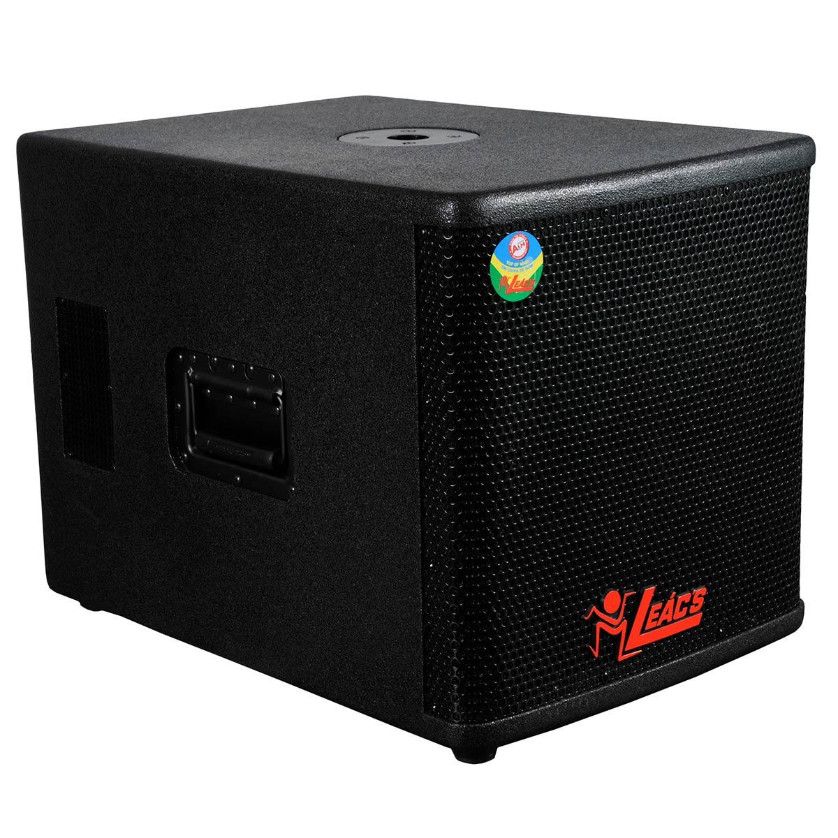 VIP500 - Subwoofer Ativo 500W VIP 500 - Leacs