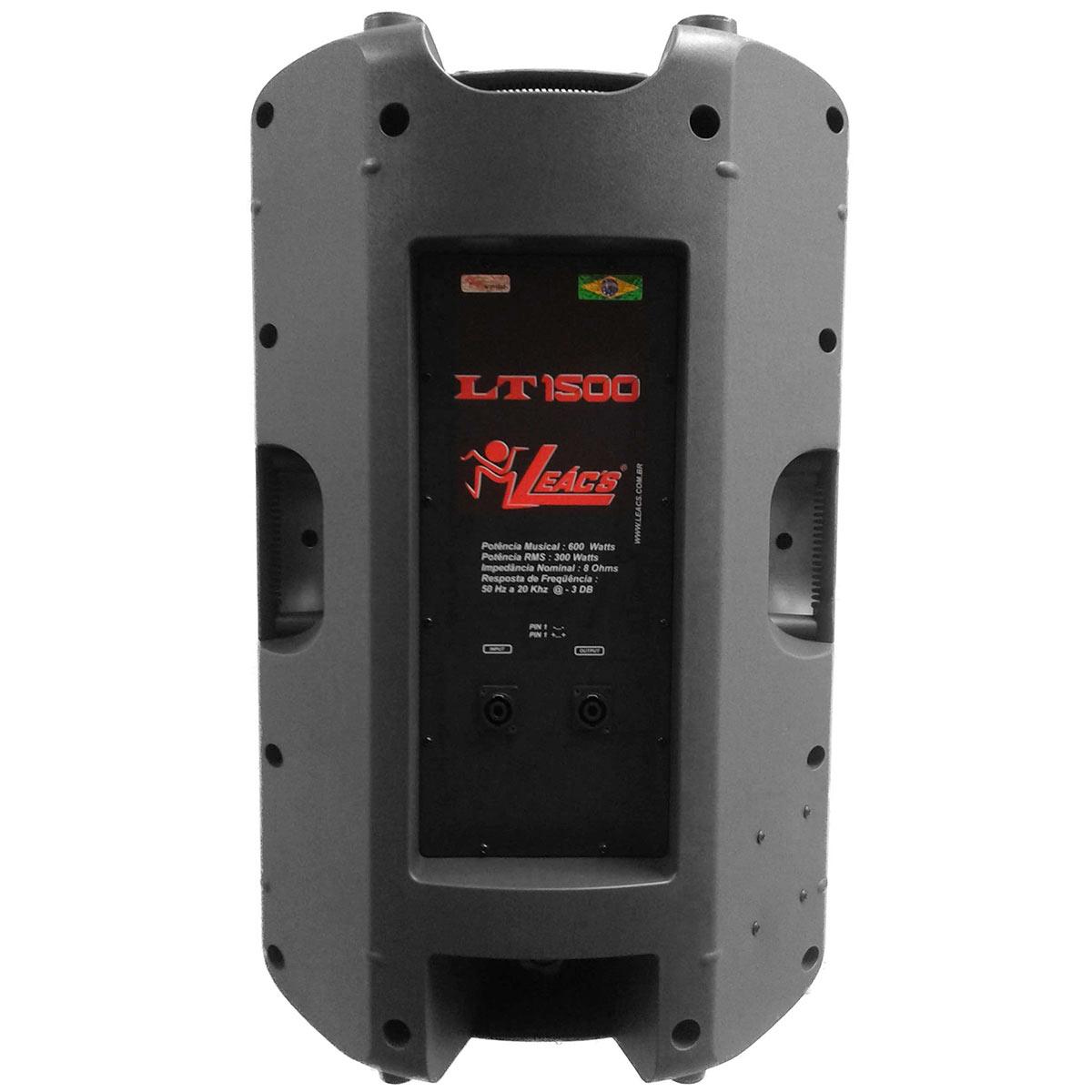 Caixa Passiva Fal 15 Pol 300W - LT 1500 Leacs