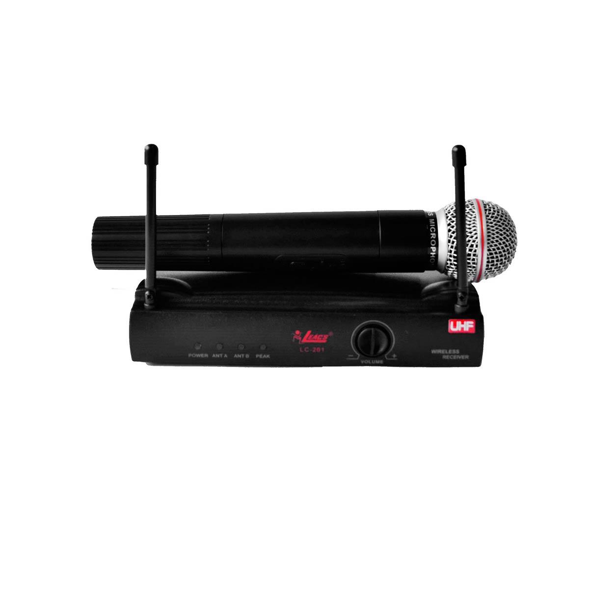 LC201 - Microfone s/ Fio de Mão LC 201 - Leacs