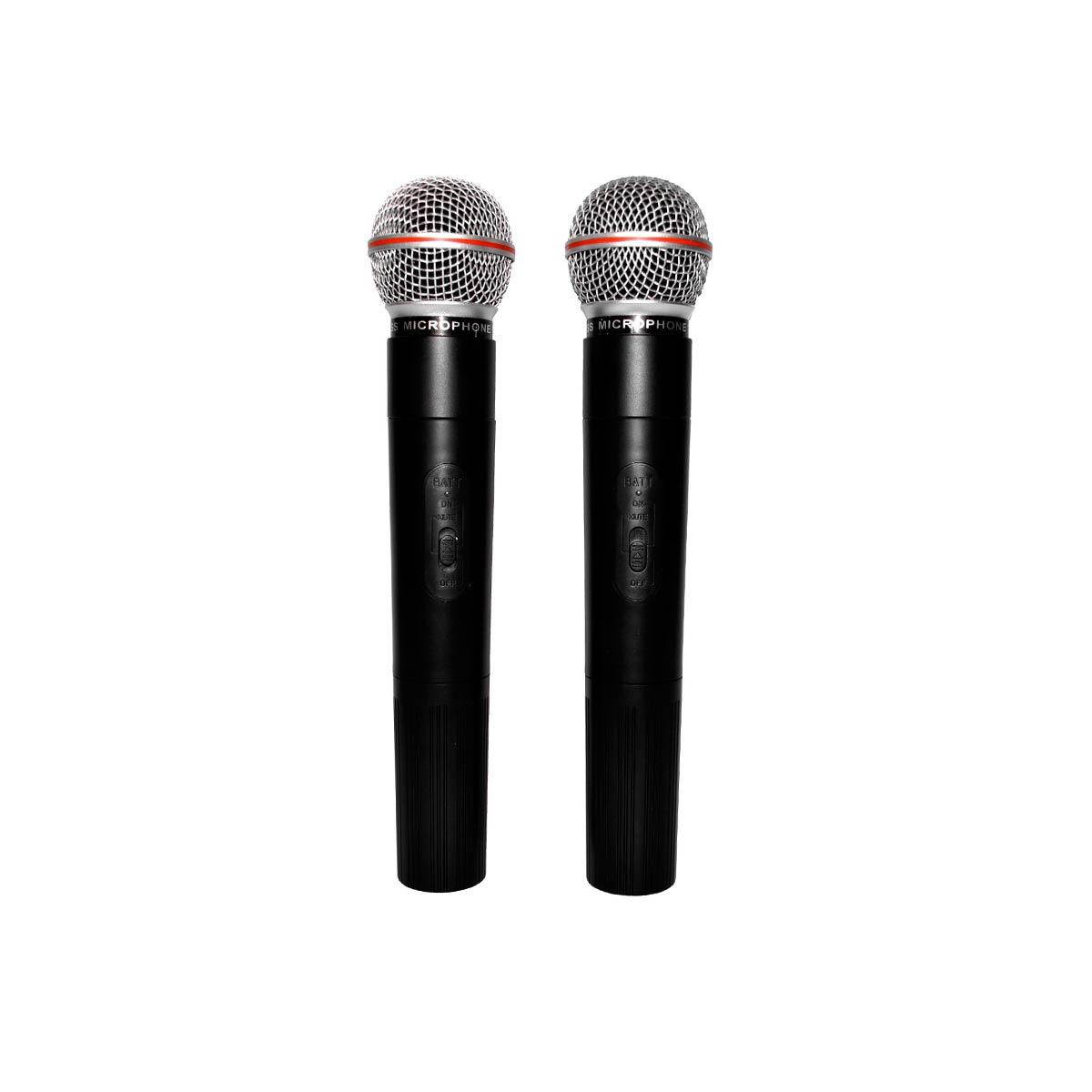 LC202 - Microfone s/ Fio Duplo de M�o LC 202 - Leacs