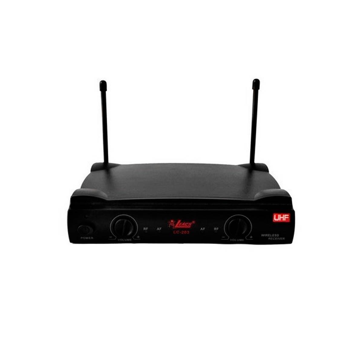 LC203 - Microfone s/ Fio M�o, Headset e Lapela LC 203 - Leacs