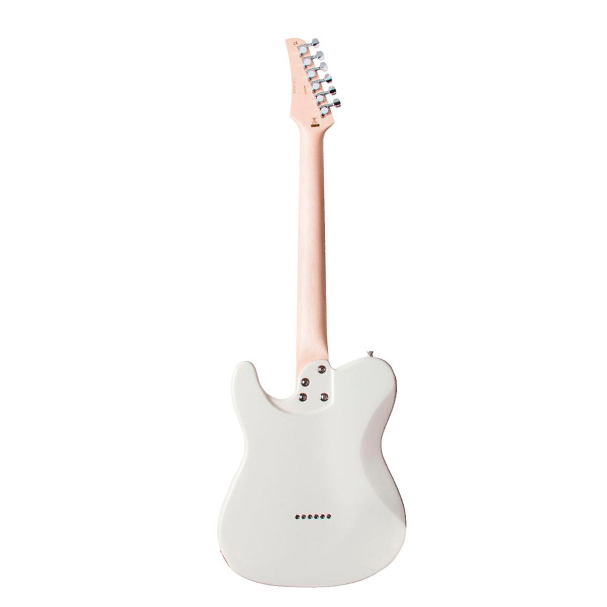Guitarra Television MP Ivory Seizi c/ Escudo Branco Perolado - Seizi