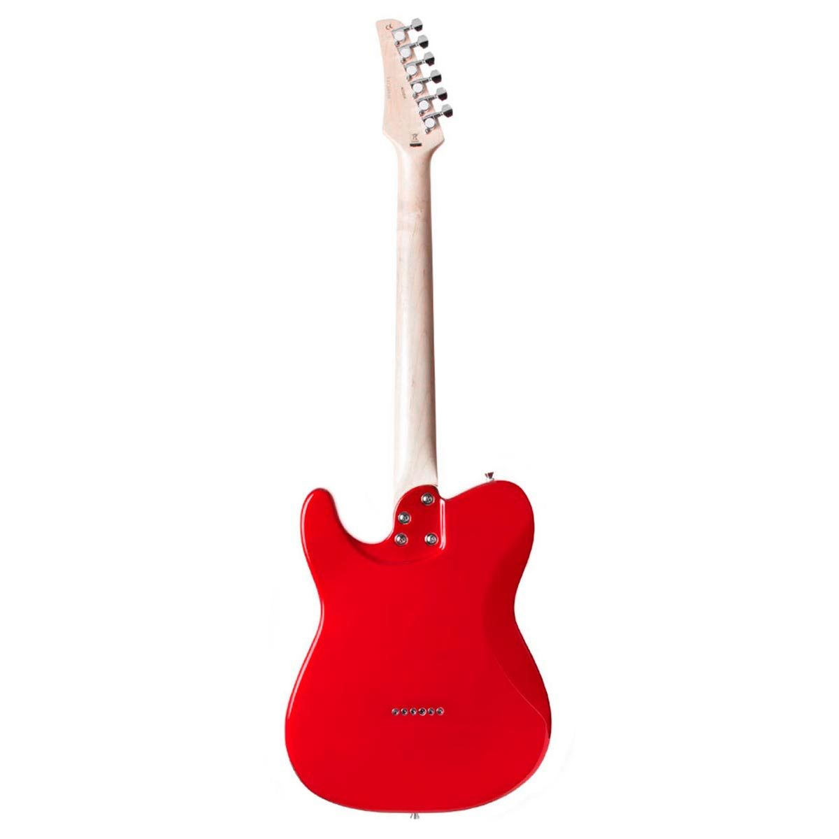 Guitarra Television Metallic Red Seizi c/ Escudo Branco Perolado - Seizi