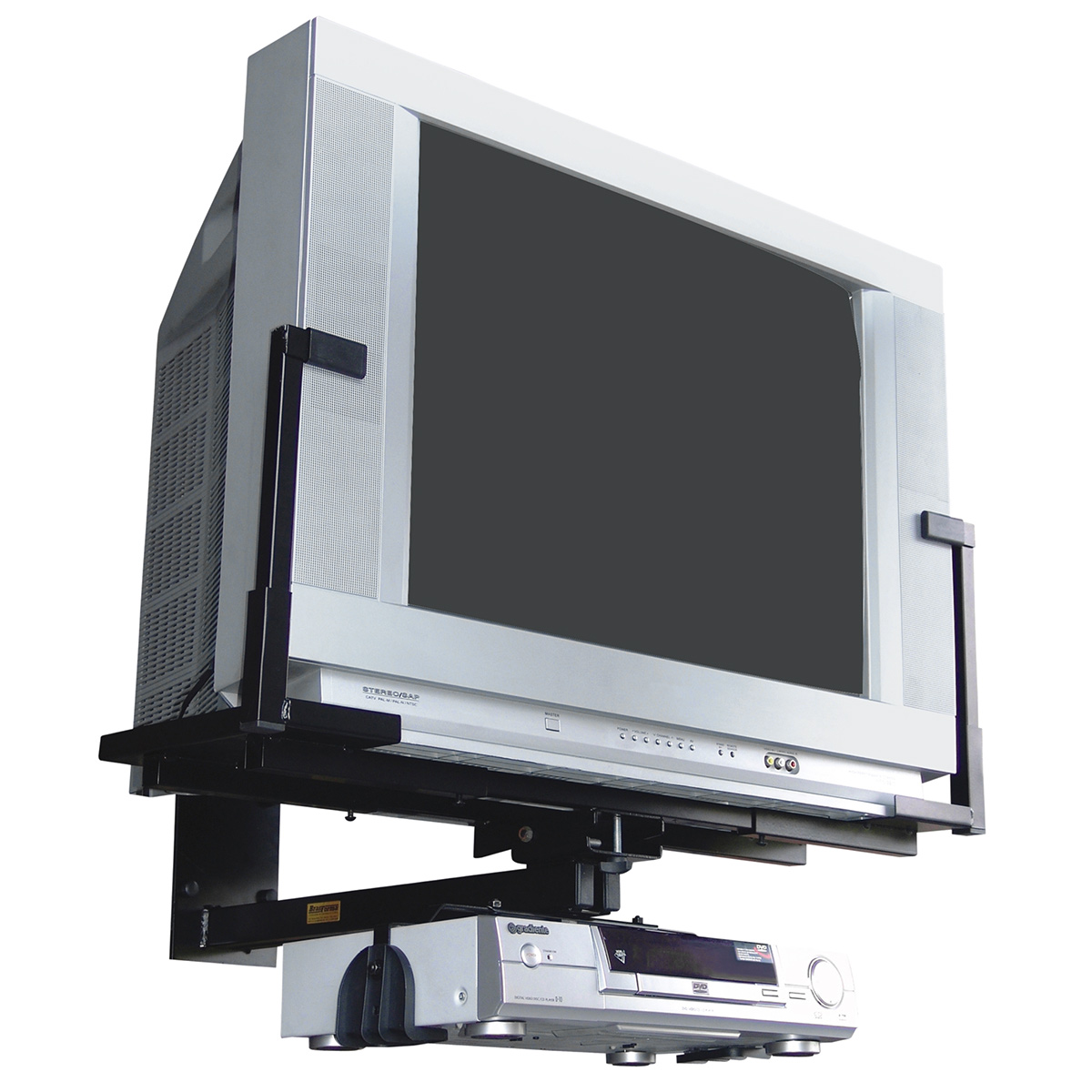 SBR1.6 - Suporte de Parede p/ TV CRT 21 a 33 c/ DVD SBR 1.6 - Brasforma