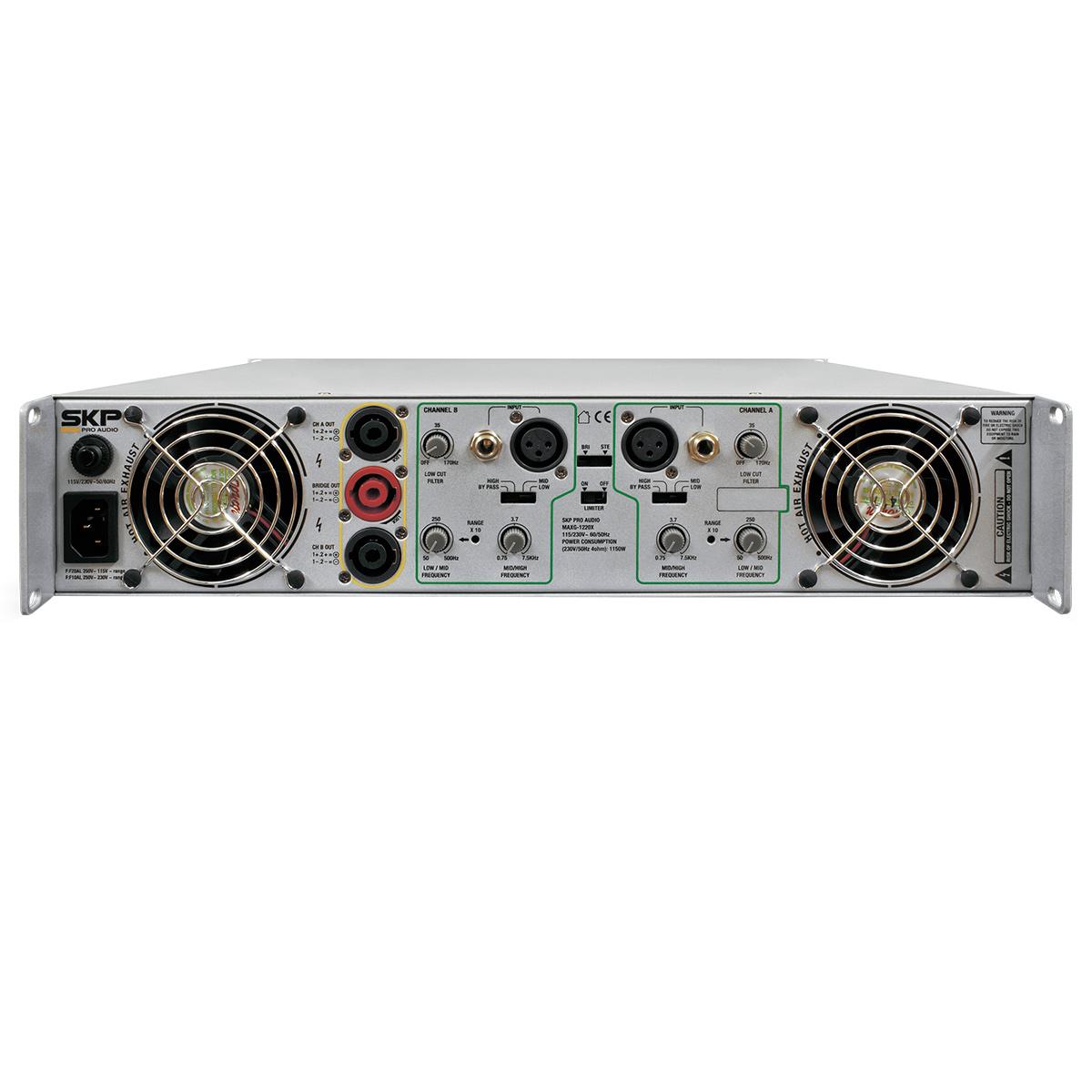 MAXG1820X - Amplificador Estéreo 2 Canais 1800W MAXG 1820X - SKP