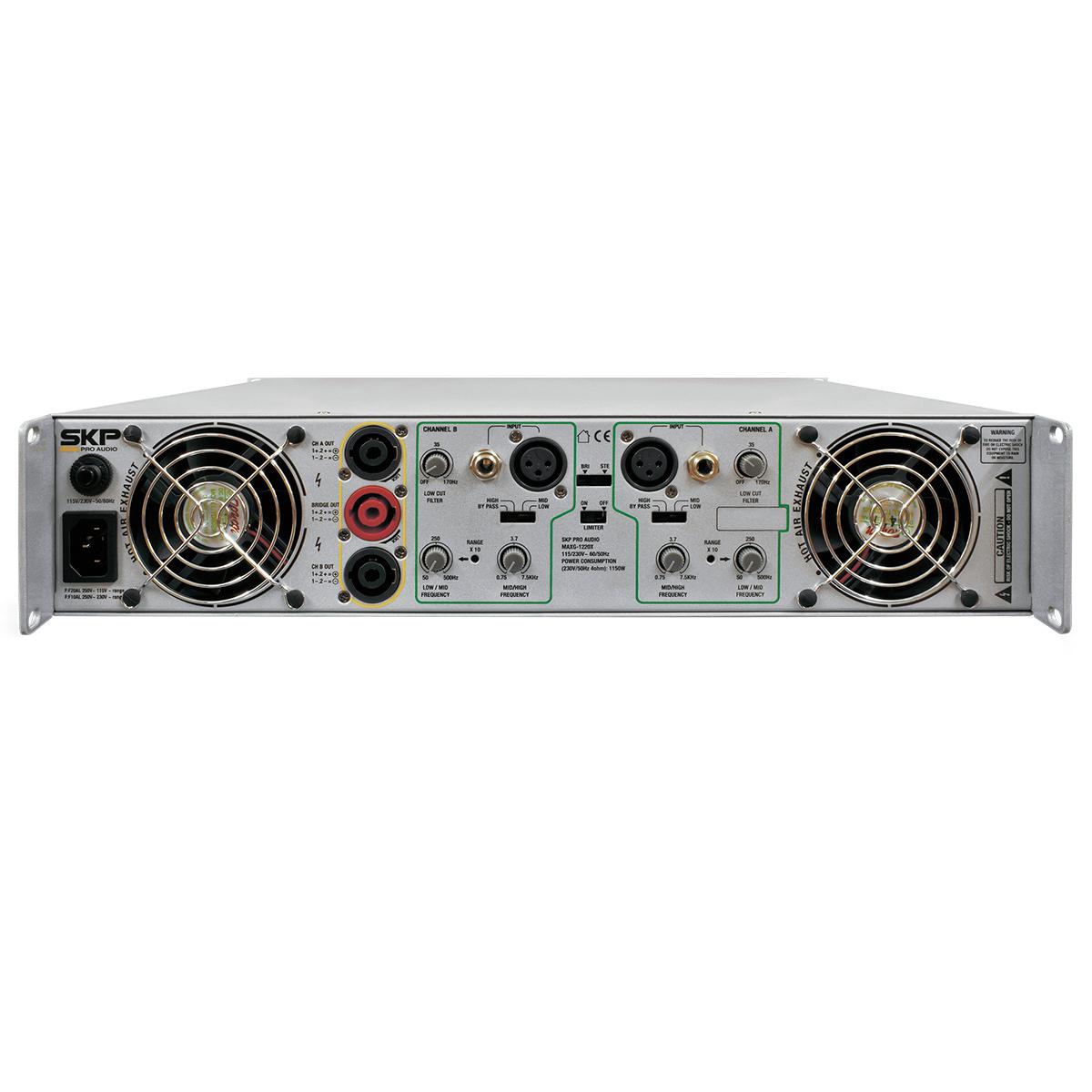 MAXG3620X - Amplificador Estéreo 2 Canais 3600W MAXG 3620X - SKP