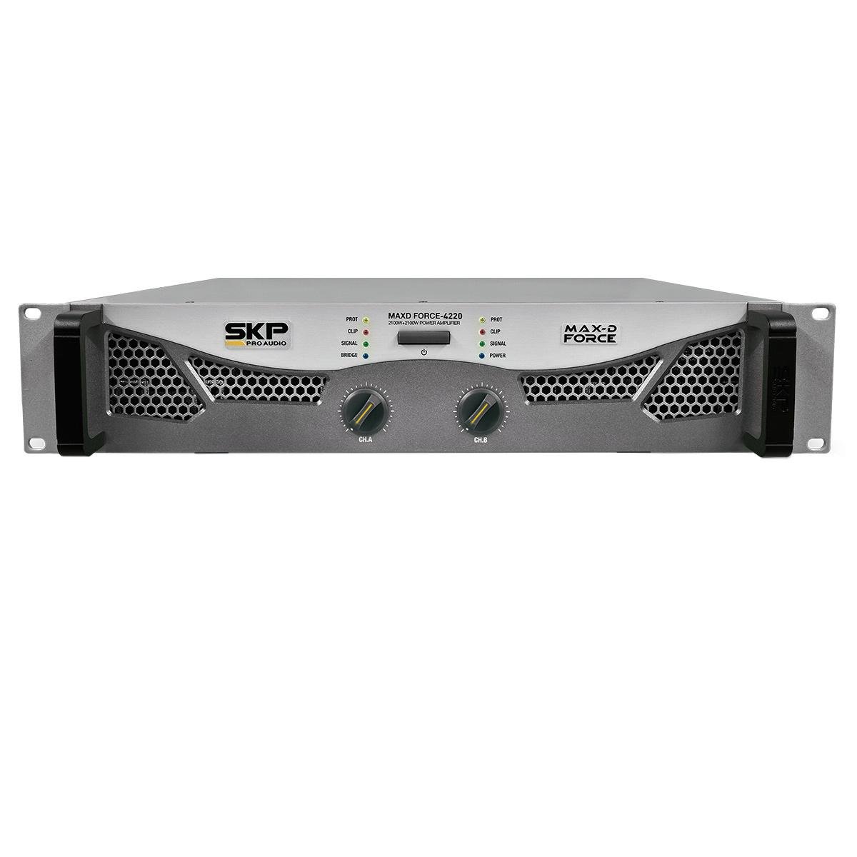 MAXDF4220 - Amplificador Estéreo 2 Canais 4200W MAXD Force 4220 - SKP