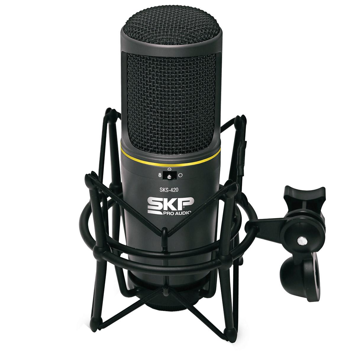 SKS420 - Microfone c/ Fio p/ Est�dio SKS 420 - SKP