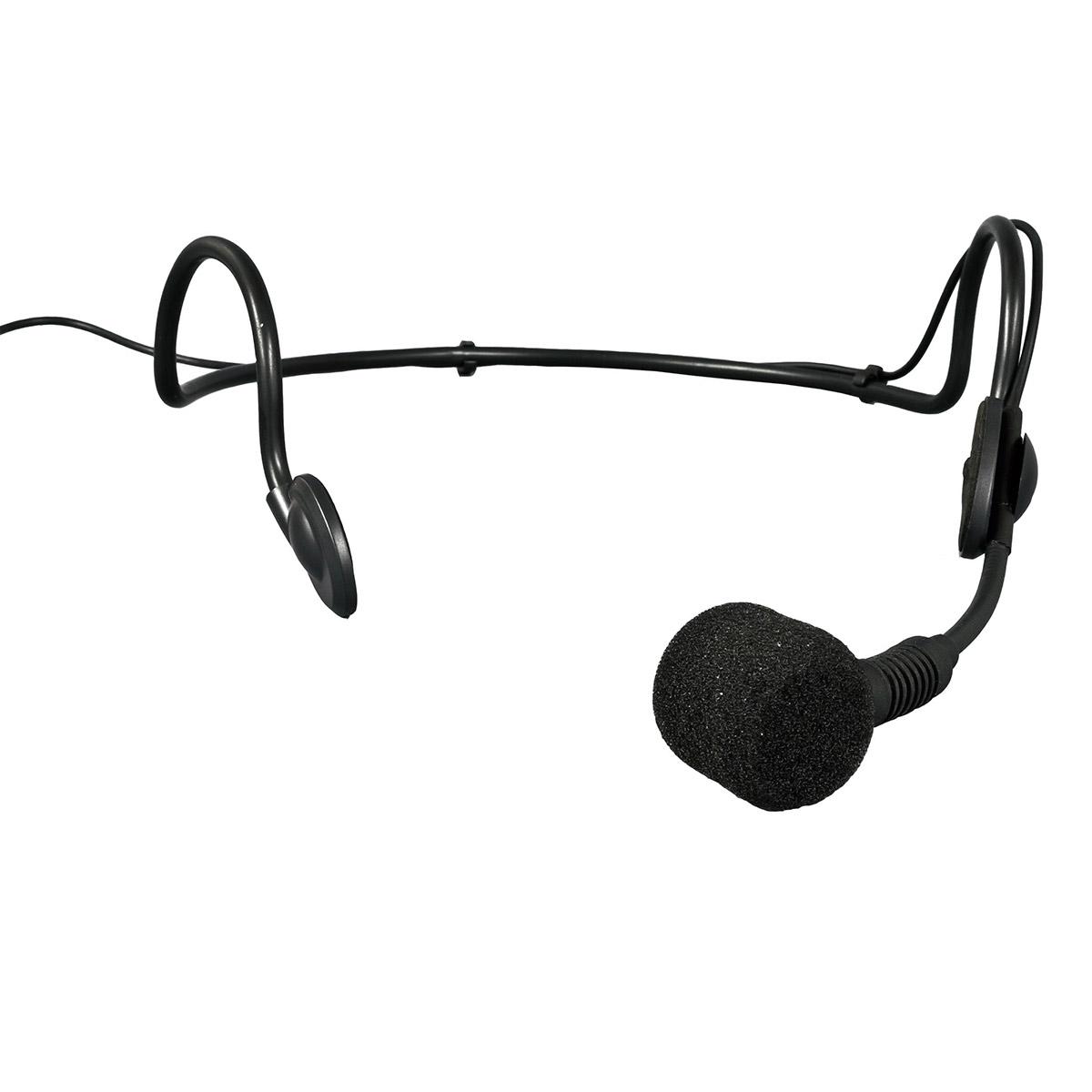 HMB3 - Microfone c/ Fio Headset / Cabe�a HMB 3 - SKP