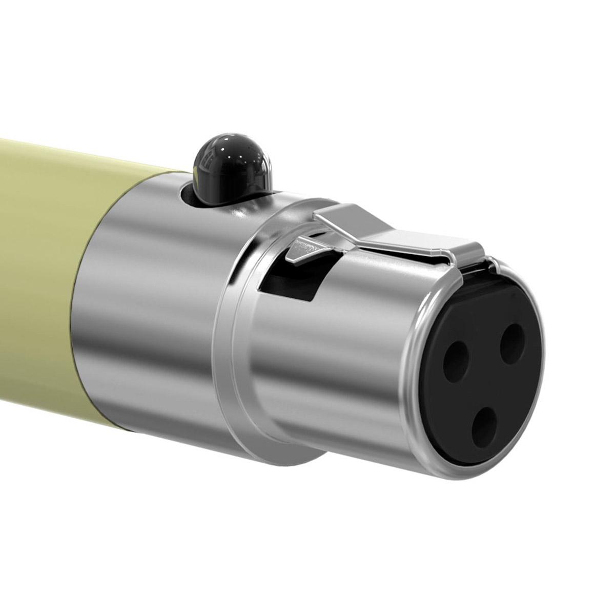 HC1SHU - Plug Adaptador P2 / Mini XLR-F c/ Trava HC1 SHU - SKP